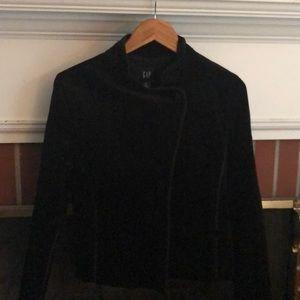 NWT Black Velvet GAP Blazer/Coat